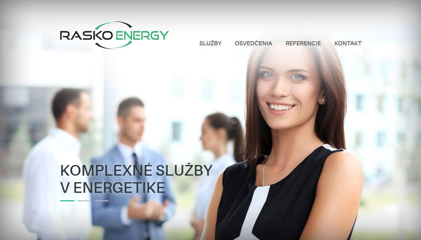 Tvorba web stránok, tvorba eshopu, SEO optimalizácia - www.raskoenergy.sk