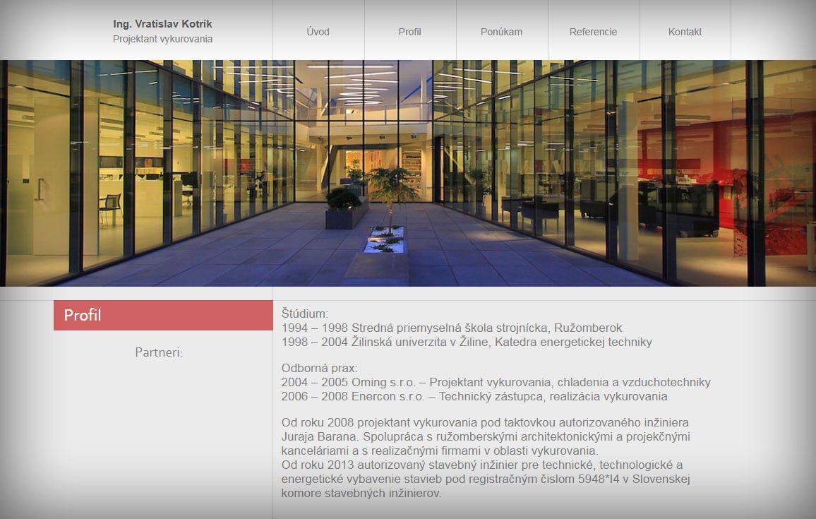 Tvorba web stránok, tvorba eshopu, SEO optimalizácia - www.kotrik.sk