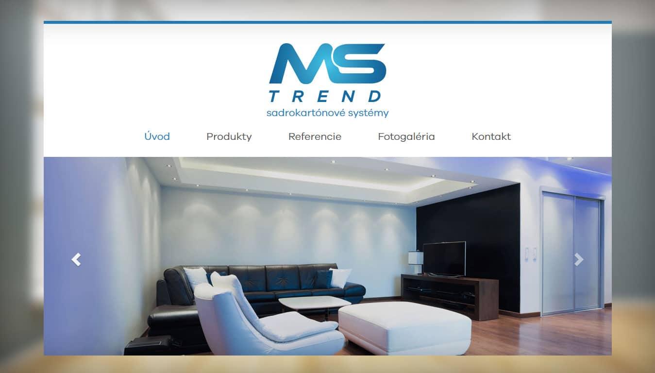 Tvorba web stránok, tvorba eshopu, SEO optimalizácia - www.mstrend.sk
